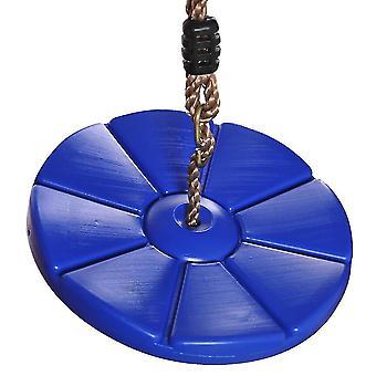 جولة سوينغ باتيل سوينغ خارج وداخل جولة بلاستيكية التسلق سوينغ للأطفال والأطفال (الأزرق)