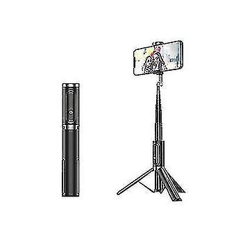 Bluetooth Selfie Stick -kolmijalka, kannettava langaton selfie-tikku Applelle (musta)
