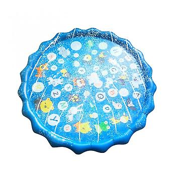 Children Summer Outdoor Water Play Pad Mat Lawn Inflatable Sprinkler Cushion Toy