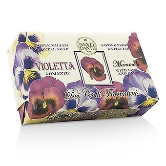 Nesti Dante Dei Colli Fiorentini Triple slipat vegetabilisk tvål - söt violett 250g / 8,8 oz