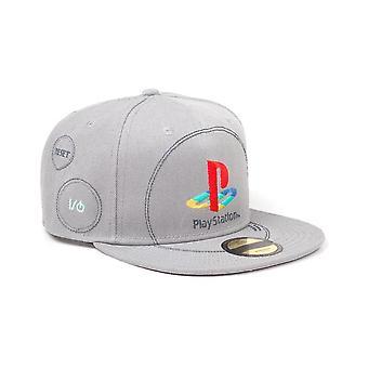 Playstation Embroidered Logo Snapback Baseball Cap
