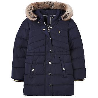 Joules Girls Hartwell Manteau chaud rembourré à capuche