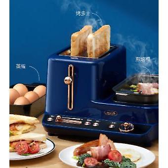 Bakmaskin Liten frukostmaskin Multifunktionell automatisk toast driver brödmaskin
