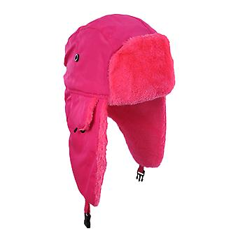 Felle Neon namaakbont Winter Trooper Hat Cap