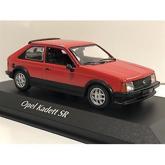 Maxichamps 940044121 Opel Kadett SR 1982 Red 1:43 Scale