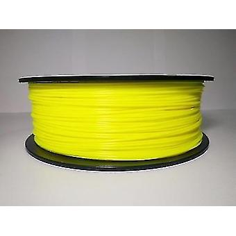 3D printer accessories direct factory manufacture plastic rods 3d printer filament pla filament 1.75Mm yellow for 3d