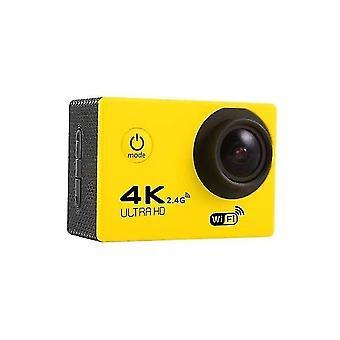 Ultra hd 4k action camera wifi 12mp 2.0 inch 30m go waterproof pro 170d helmet bicycle video