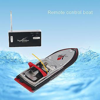 נייד מיקרו רדיו Rc שליטה סופר במהירות גבוהה חשמלי מירוץ סירות צעצועים