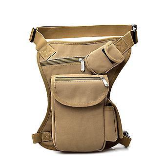 Cycling Canvas Waist And Leg Bag Fanny Packs Multi-function Leg Bag Leisure Sports Waist Bag