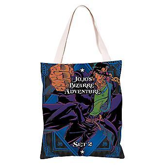 الكرتون أنيمي قماش التسوق حقيبة حمل، جوجو مغامرة غريبة #13