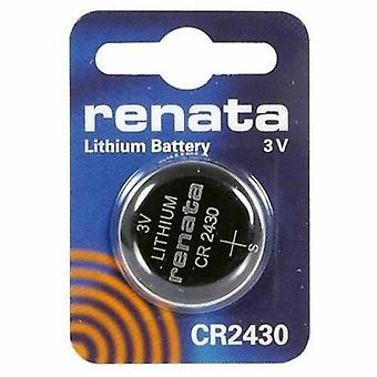 Renata Lithium Battery 3V - Pack of 10 (CR2430)