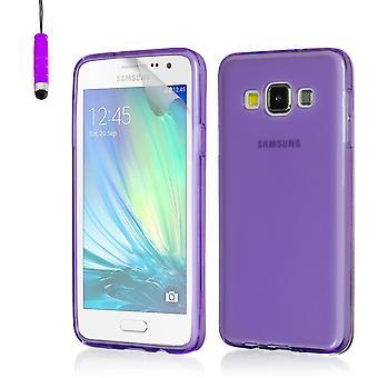 Crystal gel fallet för Samsung Galaxy A3 SM-A300 (2015) - lila