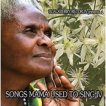 Songs Mama Used to Sing - Vol. 4-Songs Mama Used to Sing [CD] USA import