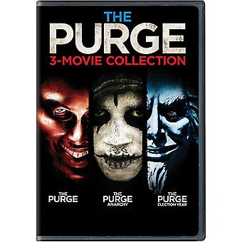 Purge: 3-Movie Collection [DVD] USA import