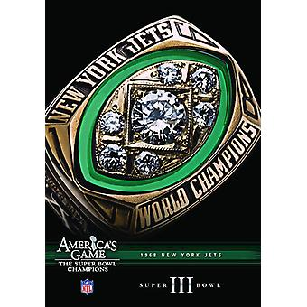 NFL America's Game: 1968 Jets (Super Bowl III) [DVD] USA import