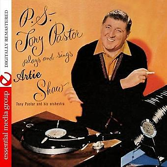 Tony Pastor & His Orchestra - P.S. Tony Pastor Plays & Sings Artie Shaw [CD] USA import