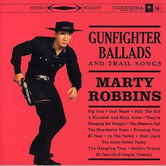 Marty Robbins - Gunfighter Ballads & Trail figlio [CD] USA importare