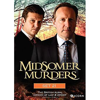 Midsomer Murders: Set 21 [DVD] USA import