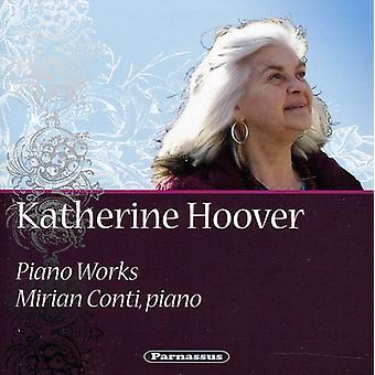 Katherine Hoover - Katherine Hoover: Piano Works [CD] USA import