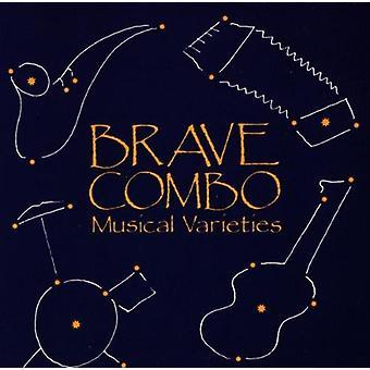 Dappere Combo - muzikale variëteiten [CD] USA importeren