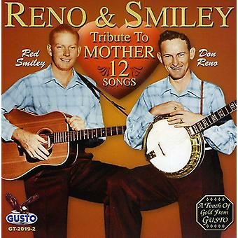 Reno & Smiley - Tribute to Mother [CD] USA import