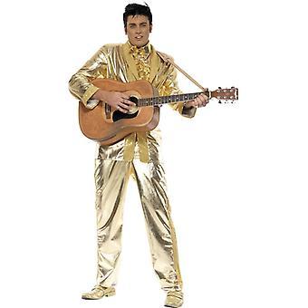 Elvis costum de aur costum Elvis Presley costum costum