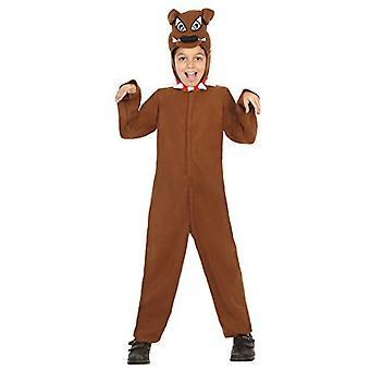Tierkostüme Kinder Hund verkleiden Kostüm braun für Kinder