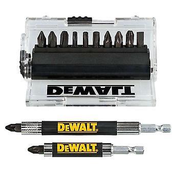 DeWALT DT70512T-QZ Impact Torsion Screwdriver Bit 14 pc + Drive Guide