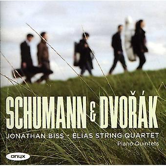 Schumann/Dvorak - Schumann & Dvor K: Piano Quintets [CD] USA import