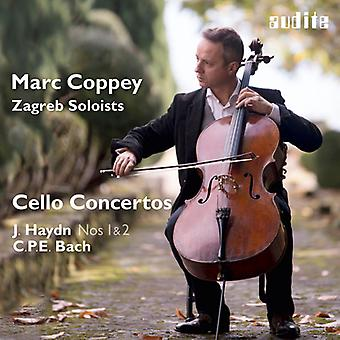 Haydn / Zagreb Soloists / Coppey - Marc Coppey & the Zagreb Soloists - Cello Concerto [CD] USA import
