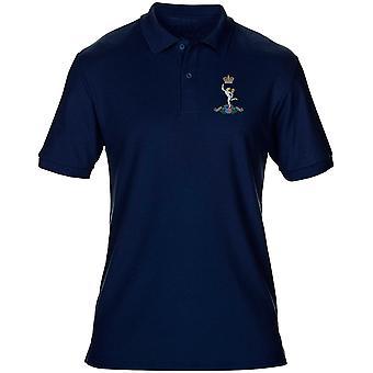 Royal Signals Stickerei Logo - offiziellen britischen Armee Herren Poloshirt