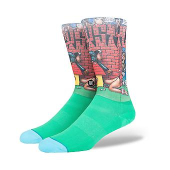 Stance Doggy Style Crew Socks in Green