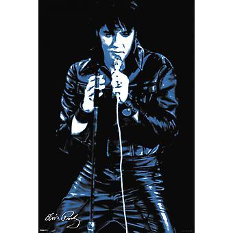 Elvis Presley - 68 Comeback Special Poster Plakat-Druck