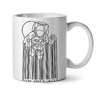 Space Astronaut Moon Geek NEW White Tea Coffee Ceramic Mug 11 oz | Wellcoda