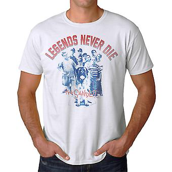 Sandlot Legends Men's White T-shirt