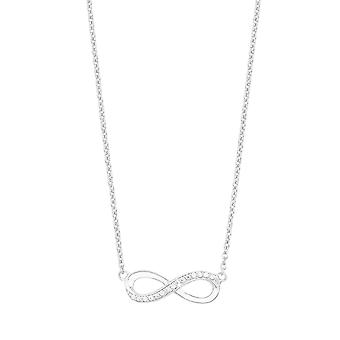 s.Oliver juvel damer kæde halskæde sølv Zyrkonia infinity 2012527