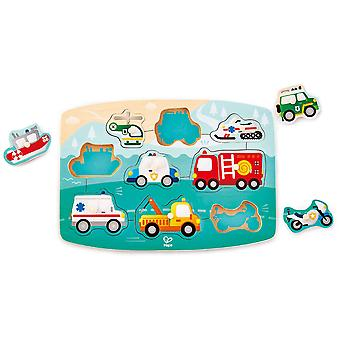 Hape Emergency pinne Puzzle