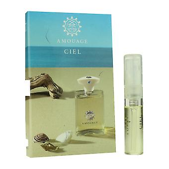 Amouage 'Ciel' Eau De Parfum Spray para homem 0,05 oz cardadas frasco (Fórmula Original)
