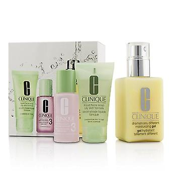 Clinique 3-step Skin Care System (skin Type 3) - 3pcs