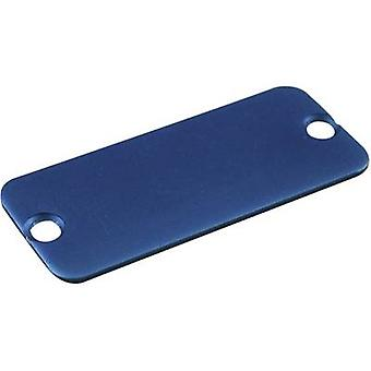 Hammond Electronics 1455DALBU-10 End cover Aluminium Blue 1 pc(er)