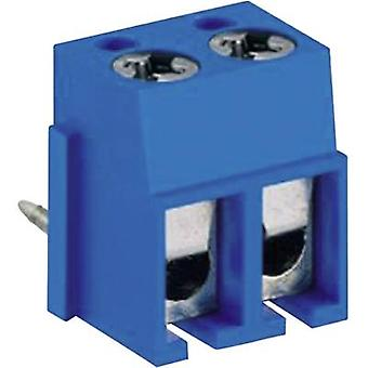 DECA MA524-500M02 Screw terminal 2.50 mm² Number of pins 2 Blue 1 pc(s)