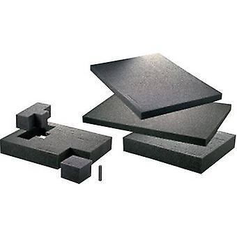TOOLCRAFT 1433382 vaahto muovi terä (L x p x k) 300 x 300 x 10 mm