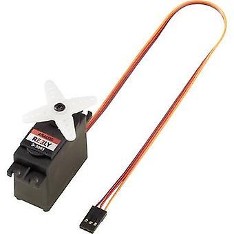 Reely Standard servo S-3003 Analogue servo Gear box material: Plastic Connector system: JR