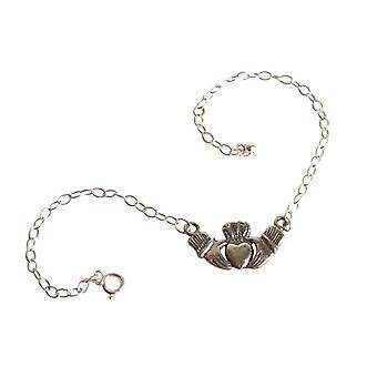 Claddagh armbånd CLADDAGH 925 sølv armbånd Sølv symbol på kærlighed