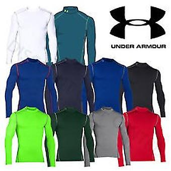 Under Armour Herren Kompressions-Mock-Shirt UA ColdGear® Armour® Farbe Royal