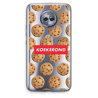 Motorola Moto X4 boîtier Transparent (doux) - Koekerond