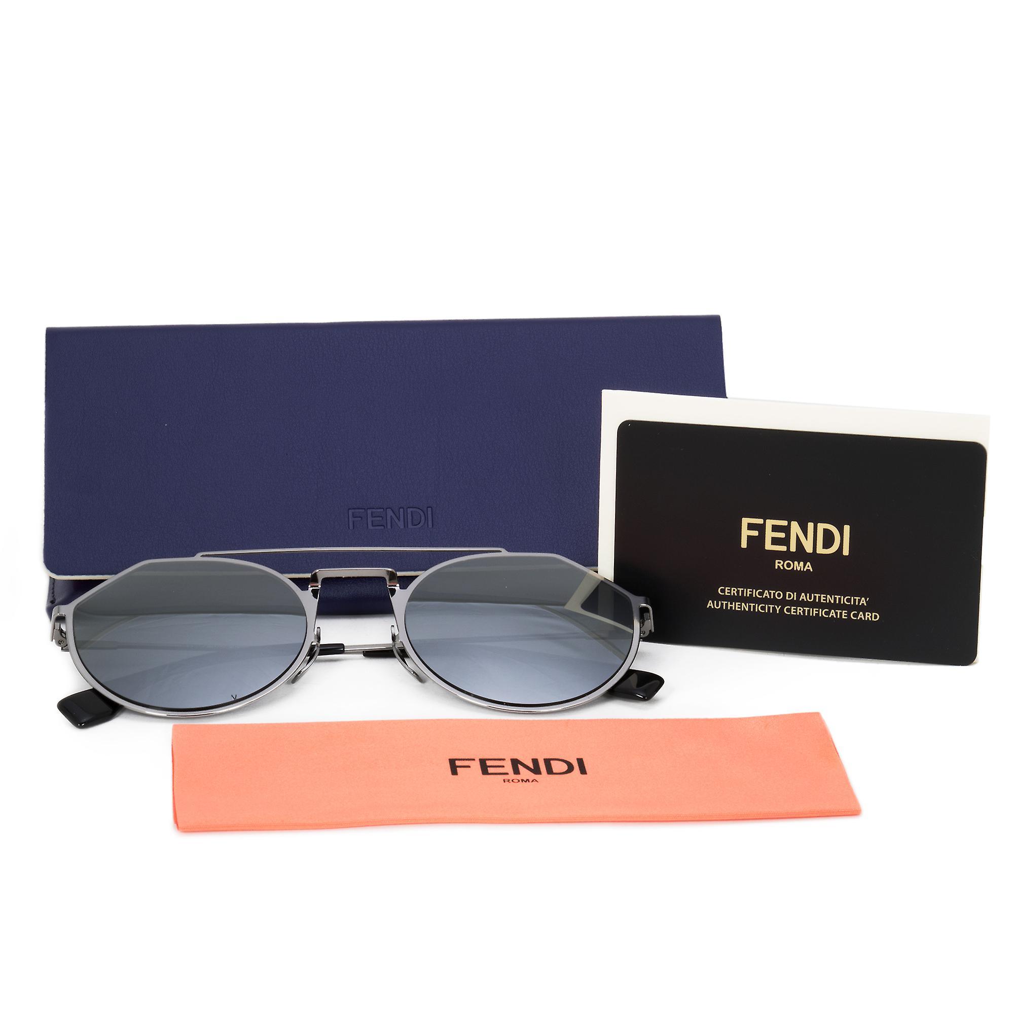 Fendi Pilot Sunglasses FFM0021S 6LB T4 54