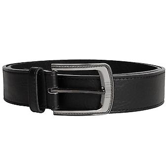 Duke D555 Mens Samuel Big Tall King Size Large Buckle Bonded Leather Belt