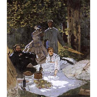 Le dejeuner sur i-herbe,Claude Monet,60x40cm