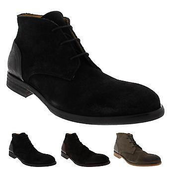 Mens H By Hudson Ryecroft Suede Lace Up Smart Formal Work Chukka Boots